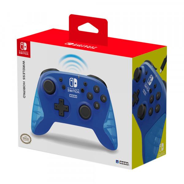 Hori Wireless HORIPAD for Nintendo Switch Blue