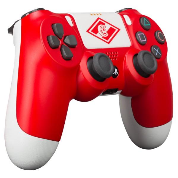 "Sony PlayStation DualShock 4 ""Красно-белый"""