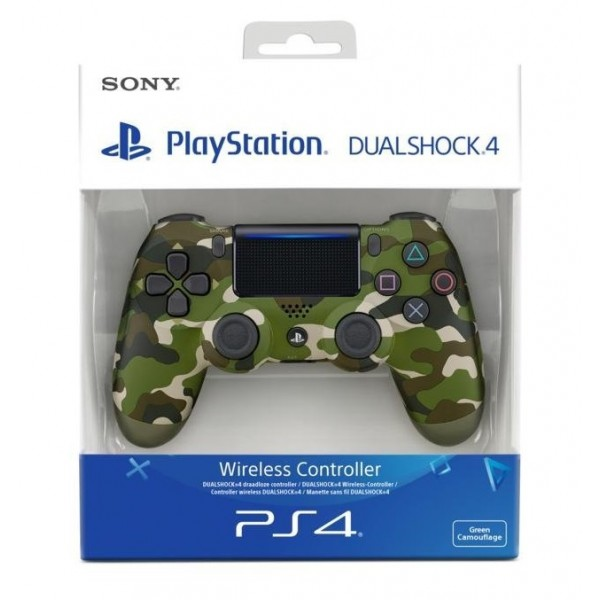 Sony PlayStation DualShock 4 Green Camouflage