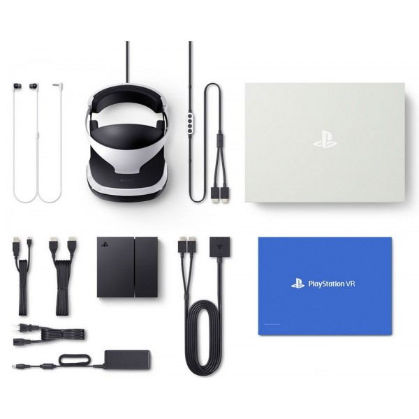 Sony PlayStation VR + Gran Turismo Sport + VR Worlds