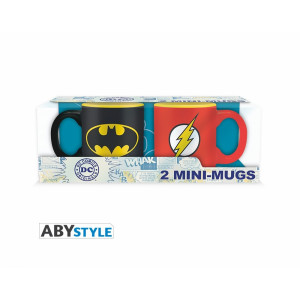 ABYstyle 2 Mini-Mugs DC Comics: Batman & Flash