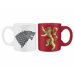 ABYstyle 2 Mini-Mugs Game of Thrones: Stark & Lannister