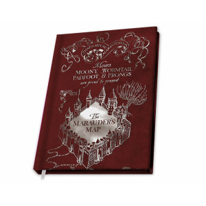 ABYstyle A5 Notebook Harry Potter: Marauder's Map
