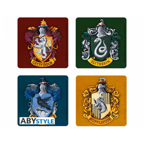 ABYstyle Coasters Harry Potter: Houses