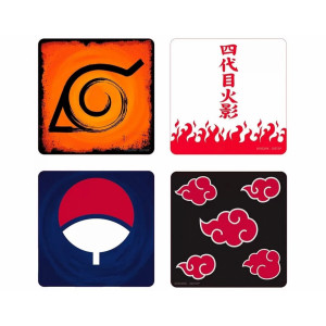 ABYstyle Coasters Naruto Shippuden: Emblem