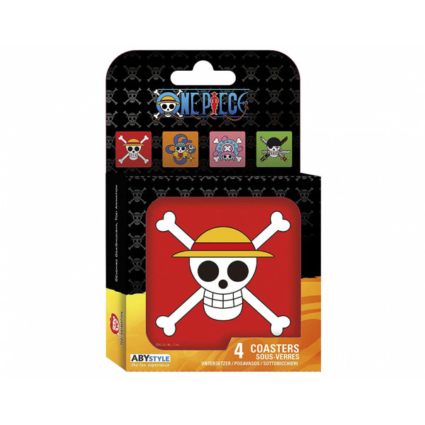 ABYstyle Coasters One Piece: Skulls