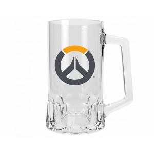 ABYstyle Glass Overwatch: Tankard Logo