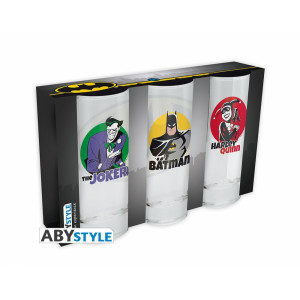ABYstyle Glasses Set: DC Comics