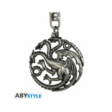 ABYstyle Keychain Game of Thrones: Targaryen 3D