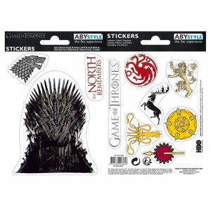 ABYstyle Mini Stickers Game of Thrones: Stark Sigils