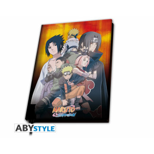 ABYstyle Notebook A5 Naruto Shippuden: Konoha Group ver.2