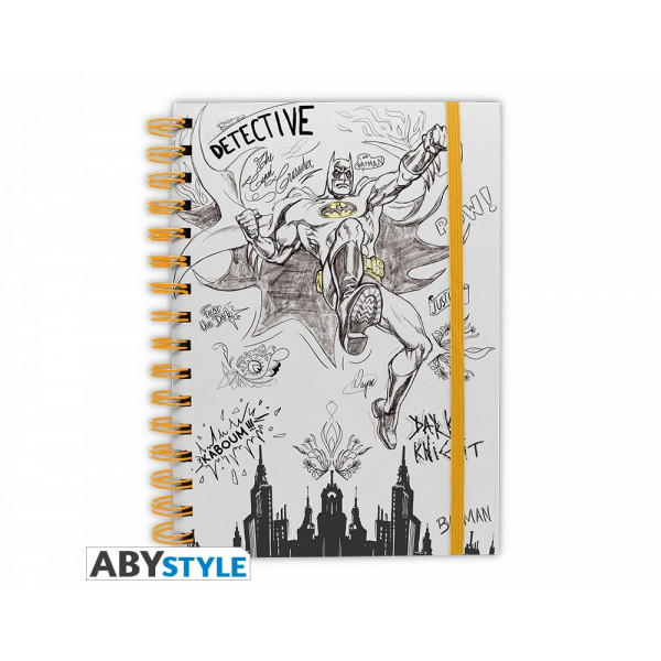 ABYstyle Notebook DC Comics: Graphic Batman
