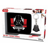 ABYstyle Pack Star Wars: Darth Vader Wallet + Keyring