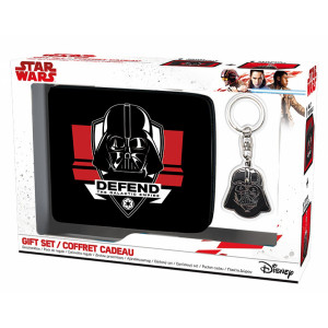 ABYstyle Pack Star Wars: Darth Vader Wallet + Keyring