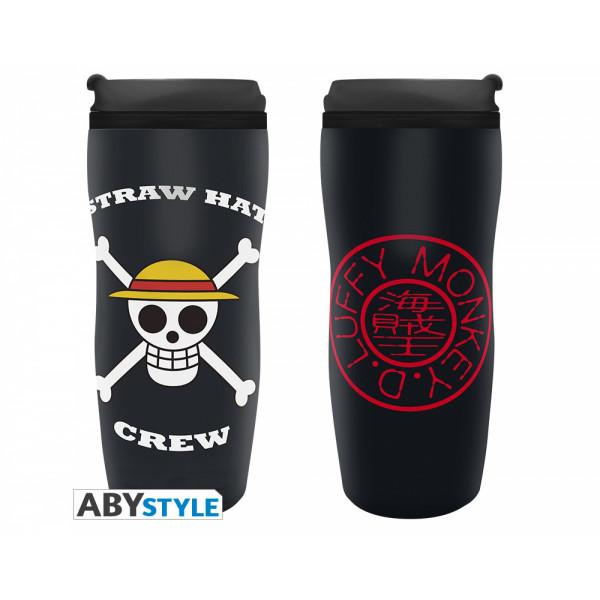 ABYstyle Travel Mug One Piece: Luffy