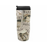ABYstyle Travel Mug One Piece: Wanted