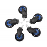 AKRacing Rollerblade Casters Blue