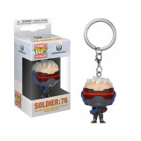 FUNKO POP Keychain Overwatch Soldier 76