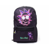 Difuzed Rick and Morty: Ricks Face Placement Printed Backpack