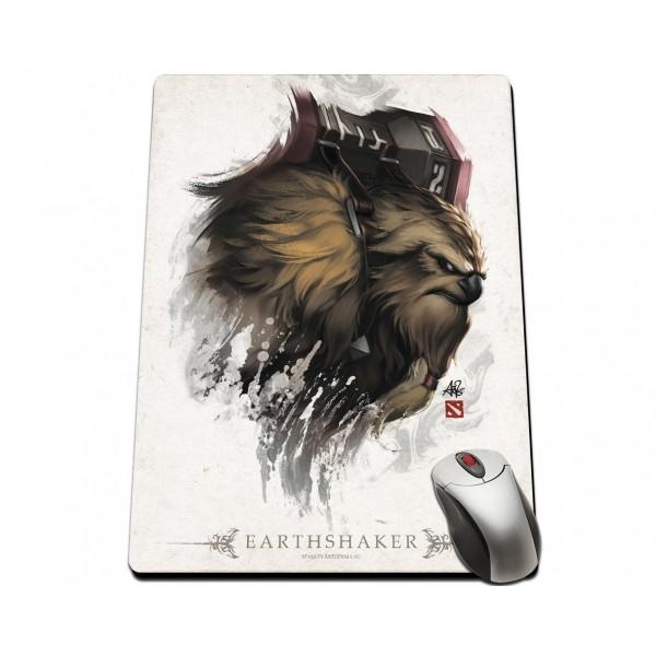 Dota 2 Earthshaker Portrait Mousepad