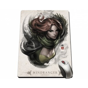 Dota 2 Windranger Portrait Mousepad