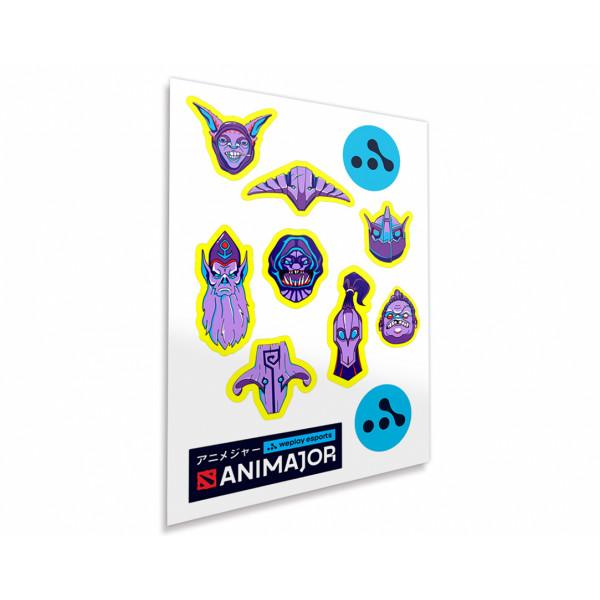 Dota 2 Sticker Pack ANIMAJOR Series 1
