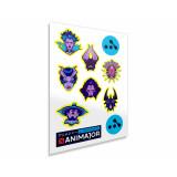 Dota 2 Sticker Pack ANIMAJOR Series 2