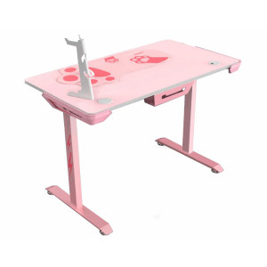 "Eureka Ergonomic I1-S Gaming Desk 45"" Pink"