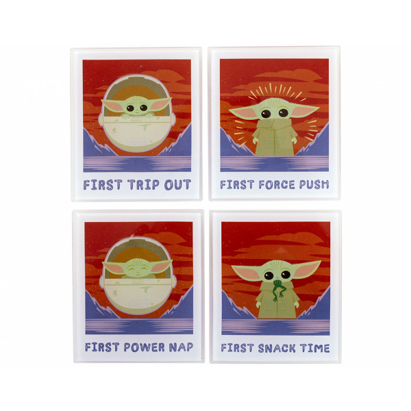 Funko Coaster Set Star Wars The Mandalorian: Polaroids