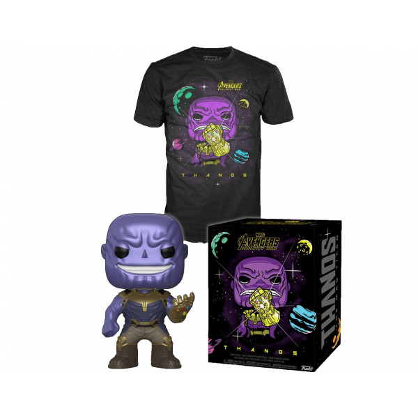 Funko POP & Tee Marvel Infinity War: Thanos