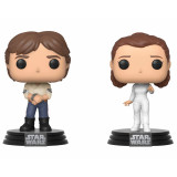 Funko POP! 2 pack Star Wars: Han Solo and Princess Leia