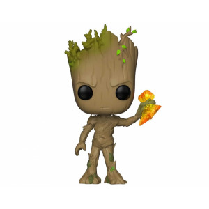 Funko POP! Avengers Infinity War: Groot with Stormbreaker