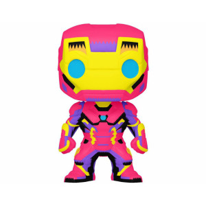 Funko POP! Black Lights Marvel: Iron Man