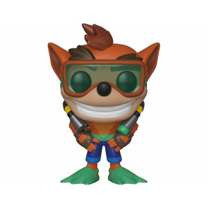 Funko Pop! Crash Bandicoot S2: Crash Bandicoot with Scuba Gear