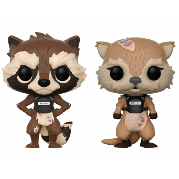 FUNKO POP! Guardians of the Galaxy: Rocket & Lylla