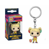 Funko POP! Keychain Birds of Prey: Harley Quinn Boobytrap Battle