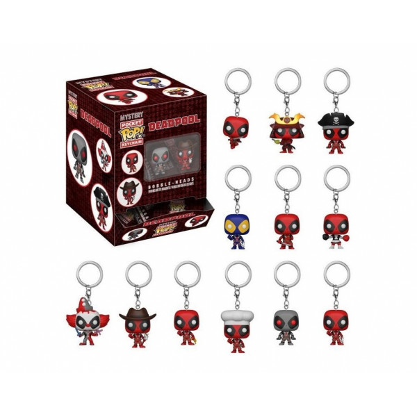 FUNKO POP Keychain Blindbag: Deadpool