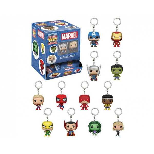 FUNKO POP Keychain Blindbag: Marvel