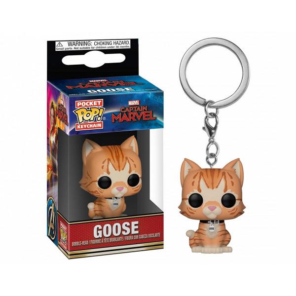 Funko POP! Keychain Captain Marvel: Goose