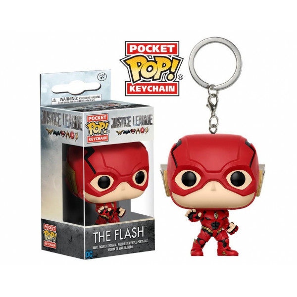 FUNKO POP Keychain: DC Justice League - The Flash
