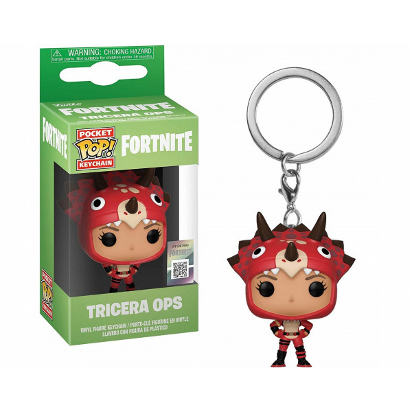 Funko POP! Keychain Fortnite S2: Tricera Ops
