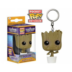 FUNKO POP Keychain Guardians of the Galaxy Dancing Groot