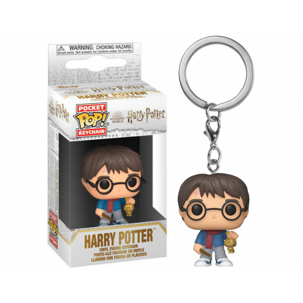 Funko POP! Keychain Harry Potter: Holiday Harry Potter