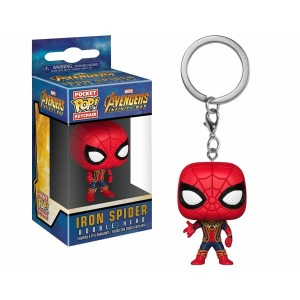 FUNKO POP Keychain Marvel Avengers Infinity War Iron Spider
