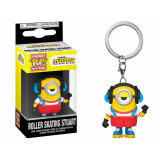 Funko POP! Keychain Minions 2 The Rise of Gru: Roller Skating Stuart