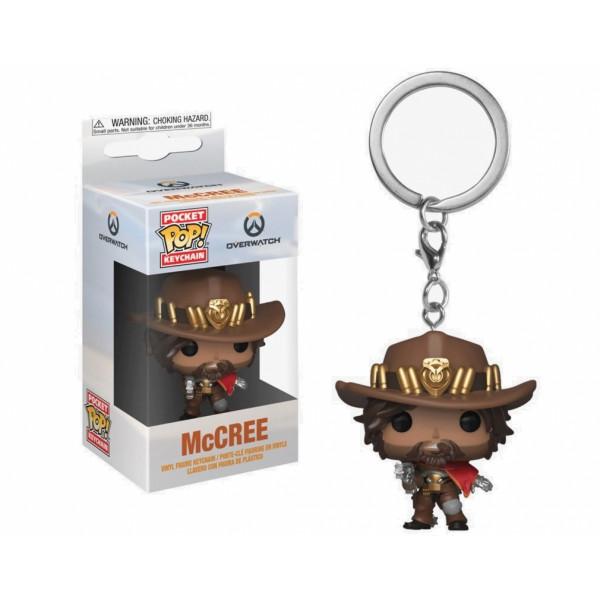 Funko POP! Keychain Overwatch: McCree