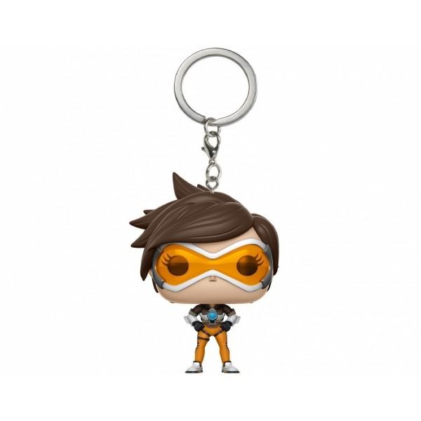 FUNKO POP Keychain Overwatch Tracer