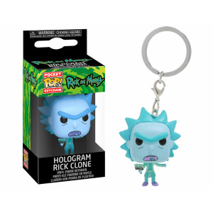 Funko POP! Keychain Rick and Morty: Hologram Rick Clone