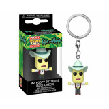 Funko POP! Keychain Rick and Morty: Mr. Poopy Butthole (Auctioneer)