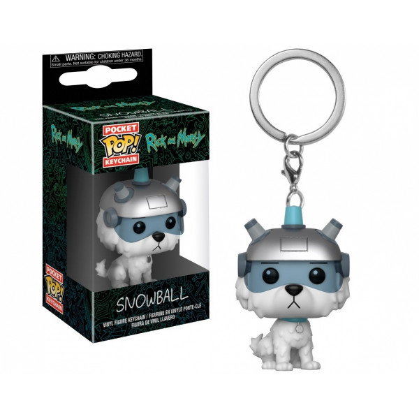 Funko POP! Keychain Rick and Morty: Snowball